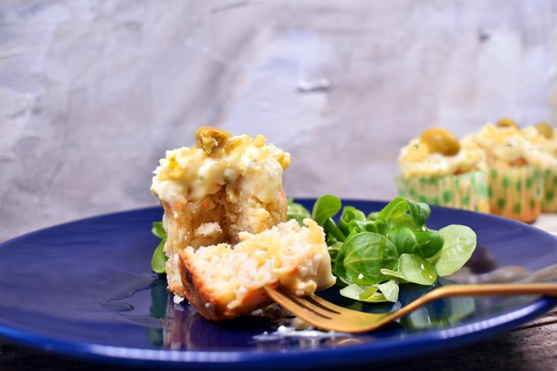 Cup cake de surimi