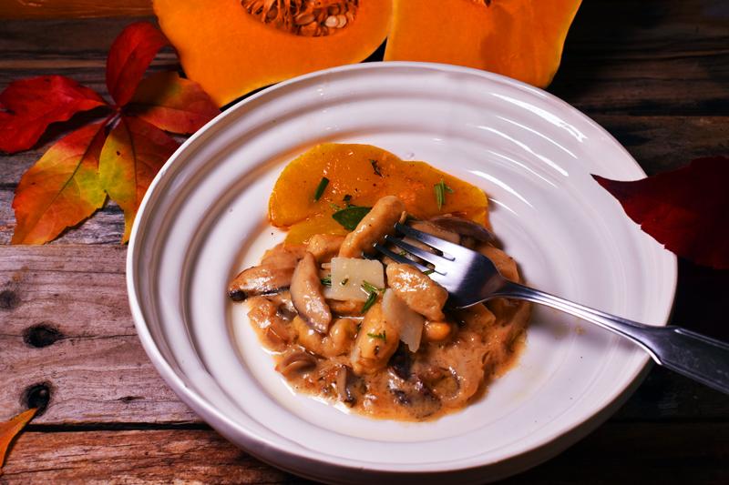 Gnocchis de calabaza y patata