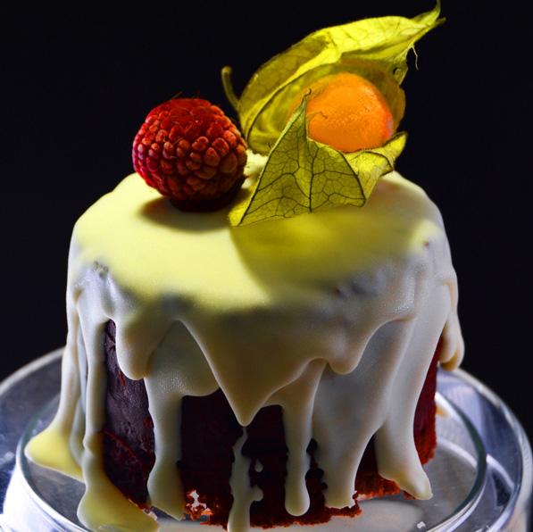 "Receta Navideña "" Minis tartas nevadas de chocolate a la vainilla"""