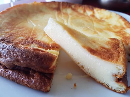 Tarta de yogur y queso